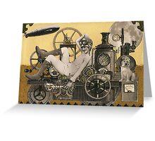 Steampunk Heroine - Arabella Tinkerton Greeting Card