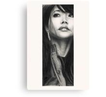 Mimi - Portrait of the artist Canvas Print