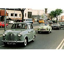 Mercy sakes alive, looks like we got us a convoy ! Photographic Print