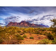 Superstition Mountains-2 Photographic Print