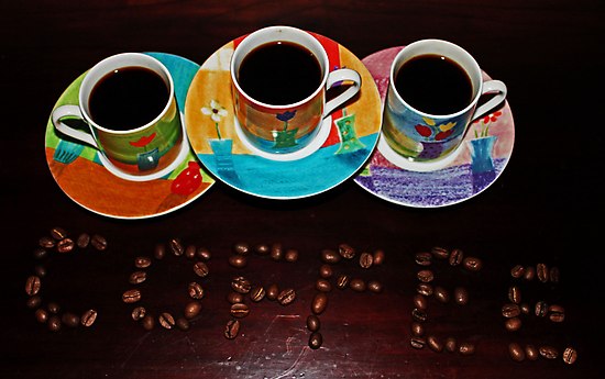 Coffee Is Served by Evita