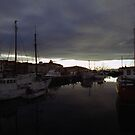 Hobart Harbour Sunrise by Michael  Moss