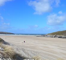 Crantock Beach, nr Newquay, Cornwall by jrfphotography