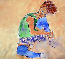 After Schiele by Christopher  Raggatt