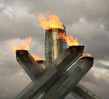 Vancouver 2010 Olympic Cauldron by Olga Zvereva