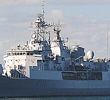 HMNZS Te Mana F111 Frigate by Phil Woodman