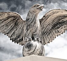 Victorious  Eagle of Marble by yurix