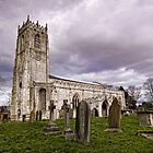 Church of St. Mary and St. Martin. At Blyth by Ray Clarke