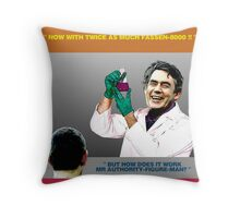 ADVERTISING TIP #1 - Using Science Throw Pillow