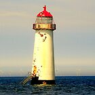 Talacre Lighthouse North Wales by Rayworsnop