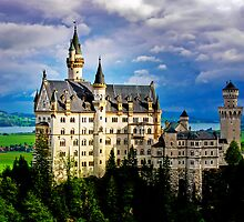 NEUSCHWANSTEIN CASTLE - BAVARIA by Michael Sheridan