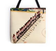 The Lineup - Women's Olympic Hockey Tote Bag