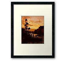 SILENT VENICE Framed Print