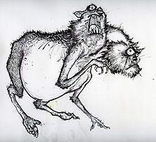 Nibbles the mutant gerbil  by mataki