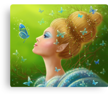 Magic butterflies Canvas Print