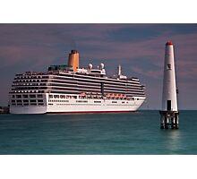 P & O Arcadia • Port Melbourne • Victoria Photographic Print