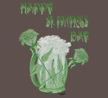 St. Patrick's Beer and Roses by Lotacats