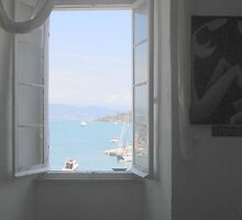 A Window on Corfu by Stephanie Forsyth