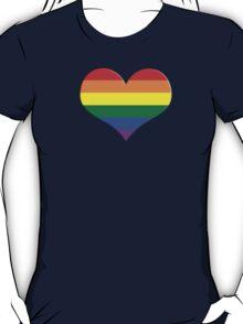 gay heart - gay, love, csd, rainbow, lesbian, pride T-Shirt