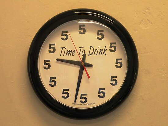 """Time to Drink"" by Trish Meyer"