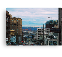 Downtown Tacoma Canvas Print