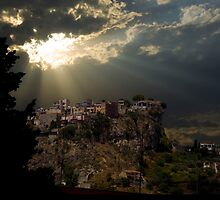 Taormina Village on the Peak by Charlie Busuttil