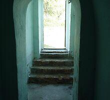 blue doorway  by KarynL