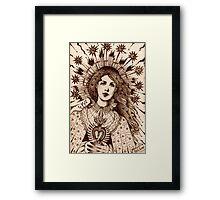 The High Priestess  Framed Print