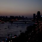 Night on the Nile, Cairo 2009 by jackmbernstein