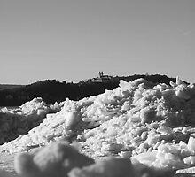 Ice Field in black&white by Dávid Gulyás