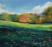 Autumn Leaves by Michael Creese