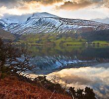Dawn over Scaffel Pike by Shaun Whiteman