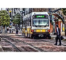 DART Light Rail Photographic Print