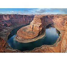 Clearing Storm at Horseshoe Bend Photographic Print