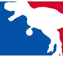 Dinosaurs National Basketball Association Sticker
