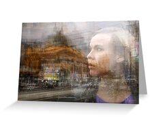 Untitled-4: Flinders Street Station Greeting Card