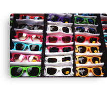 80's Sunglasses, Camden Markets - London Canvas Print