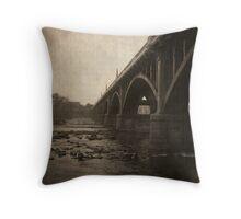 Gervais Street Bridge. Throw Pillow