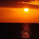 sunset fishing Negril Jamaica by jeanlphotos