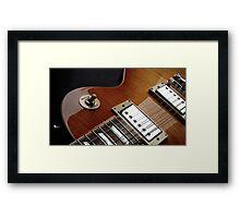 Guitar Icon : '59 Flametop Les Paul Framed Print