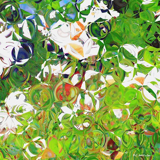 Summer Garden by RC deWinter