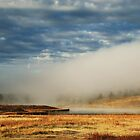 Morning Mist and Clouds - Pagosa Springs, Colorado by Patricia Miller