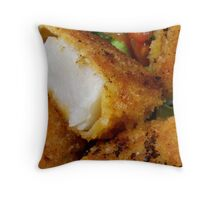 Coquille Saint-Jacques Throw Pillow