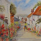 Church Hill - Hythe Kent by Beatrice Cloake