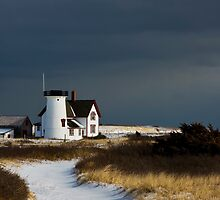 Stage Harbor Lighthouse, Chatham by bettywiley