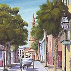"""Church Street"" Charleston SC USA by Matthew Campbell"