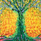 Joyful Tree by Wojtek Kowalski