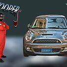Mini Cooper S by Philip Golan