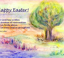 "Easter Greetings  ""Promise of Resurrection"" by Caroline  Lembke"