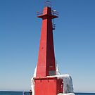 Lighthouse Ice by BarbL